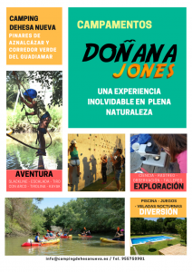 Campamento Doñana Jones