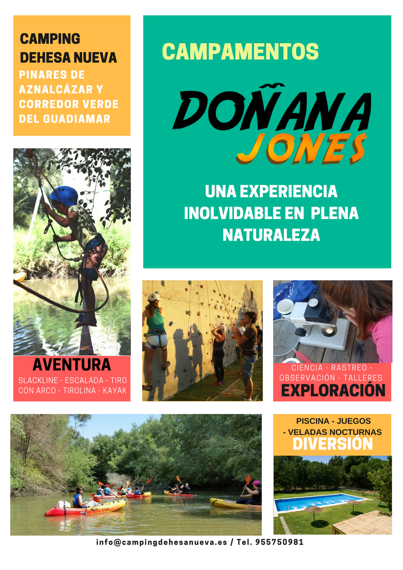 Campamento Doñana Jones