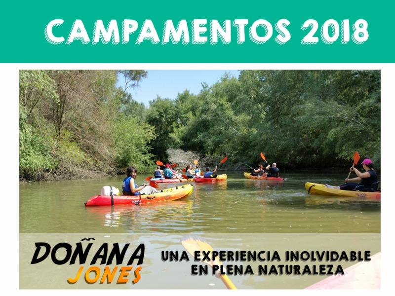 Campamento Guadiamar Educa OTL Camping Dehesa Nueva