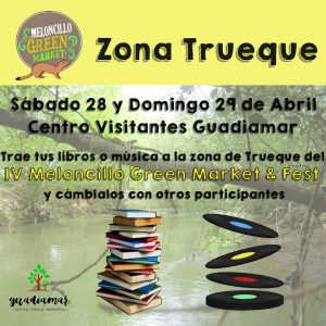 Cartel Zona Trueque Meloncillo