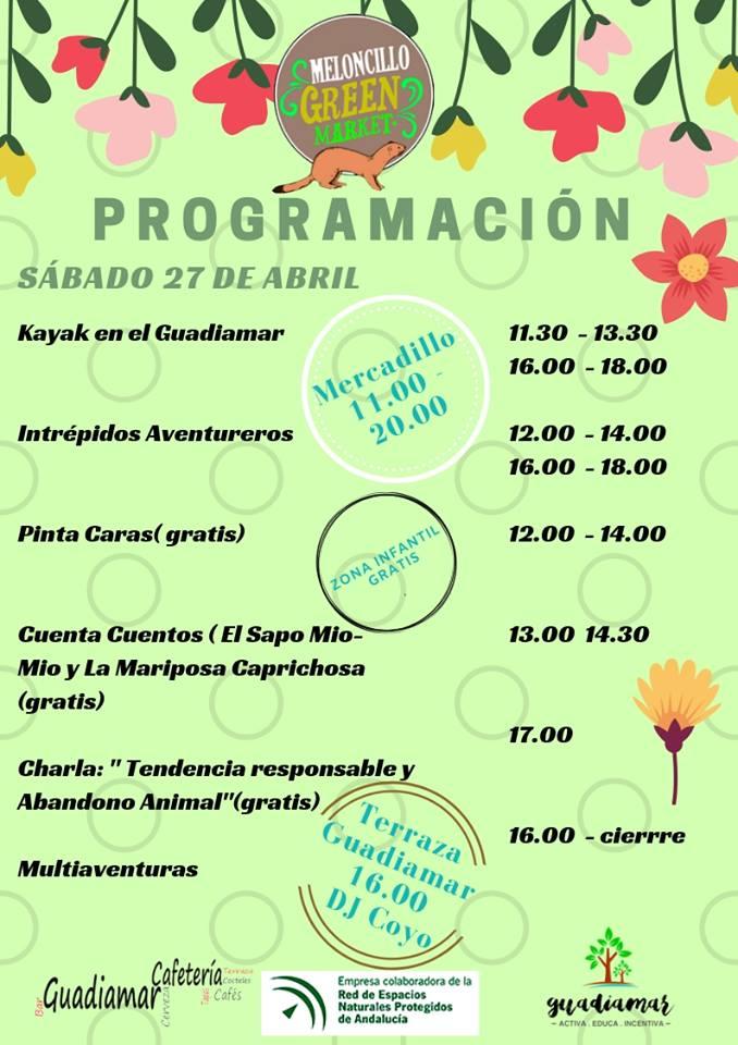 Programación de actividades Meloncillo 2019 - Sábado 28 de abril