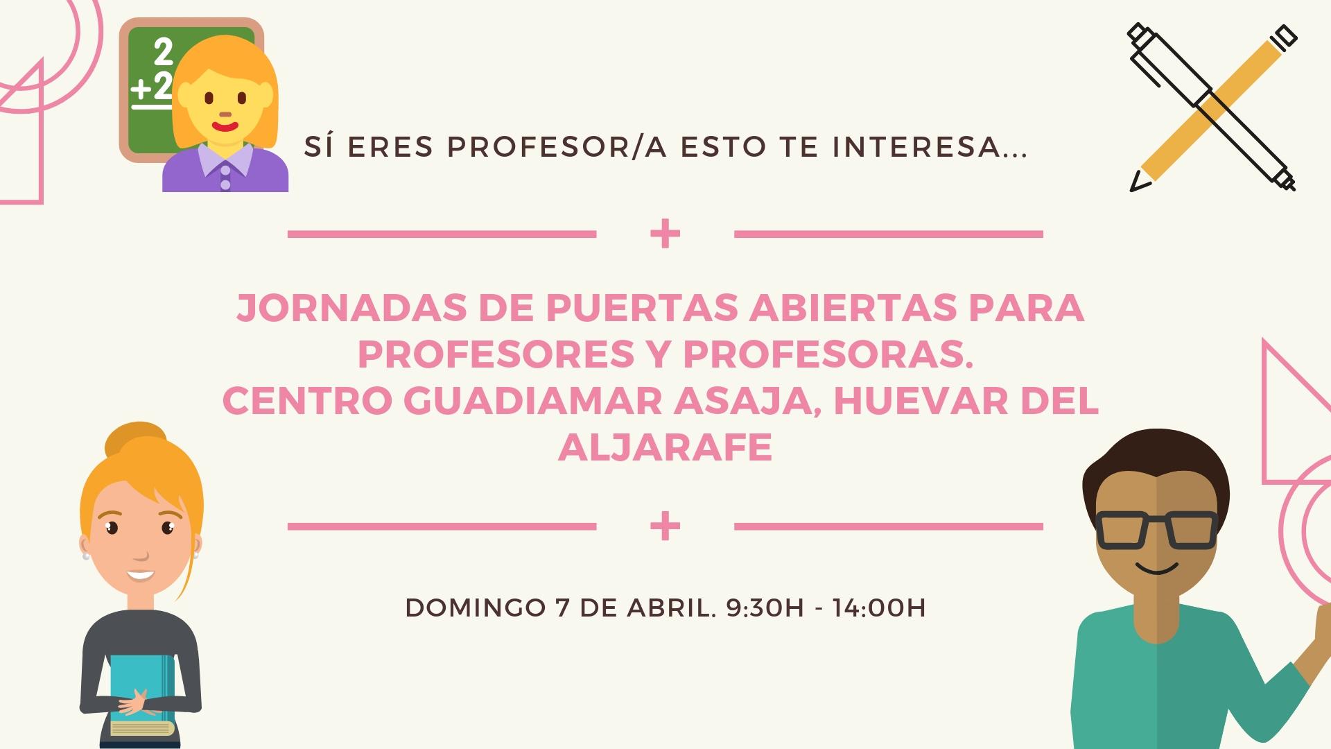 I Jornadas de Puertas Abiertas Profesores en Centro Guadiamar- Asaja