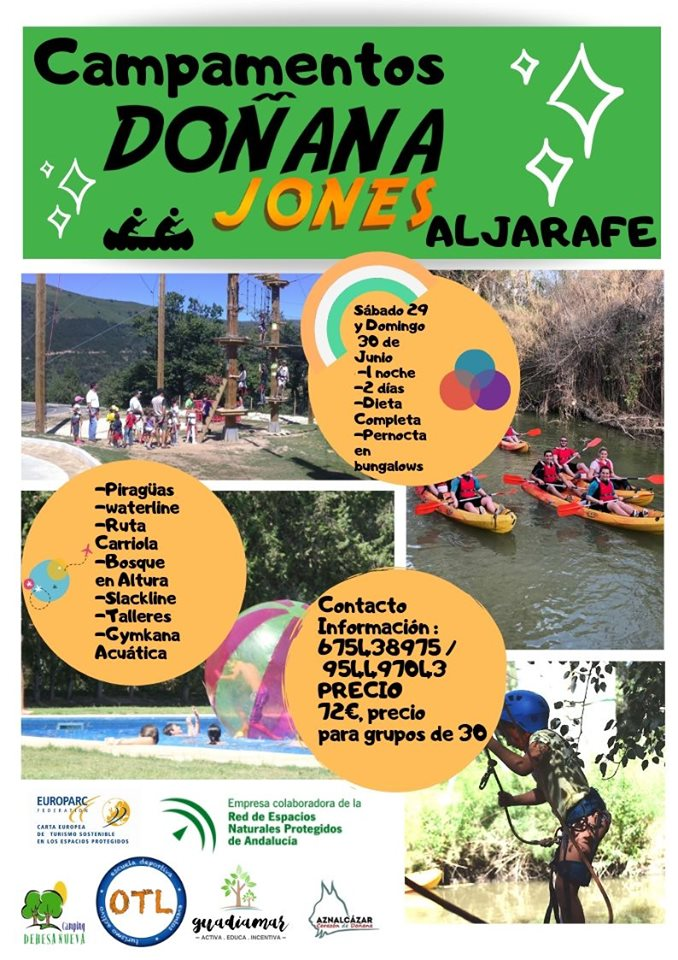 Cartel Doñana Jones Junio 2019