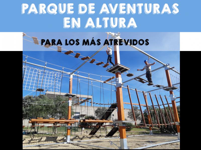Parque en Altura en Guadiamar