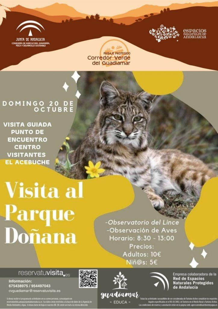 Visita al Parque de Doñana Guadiamar Educa
