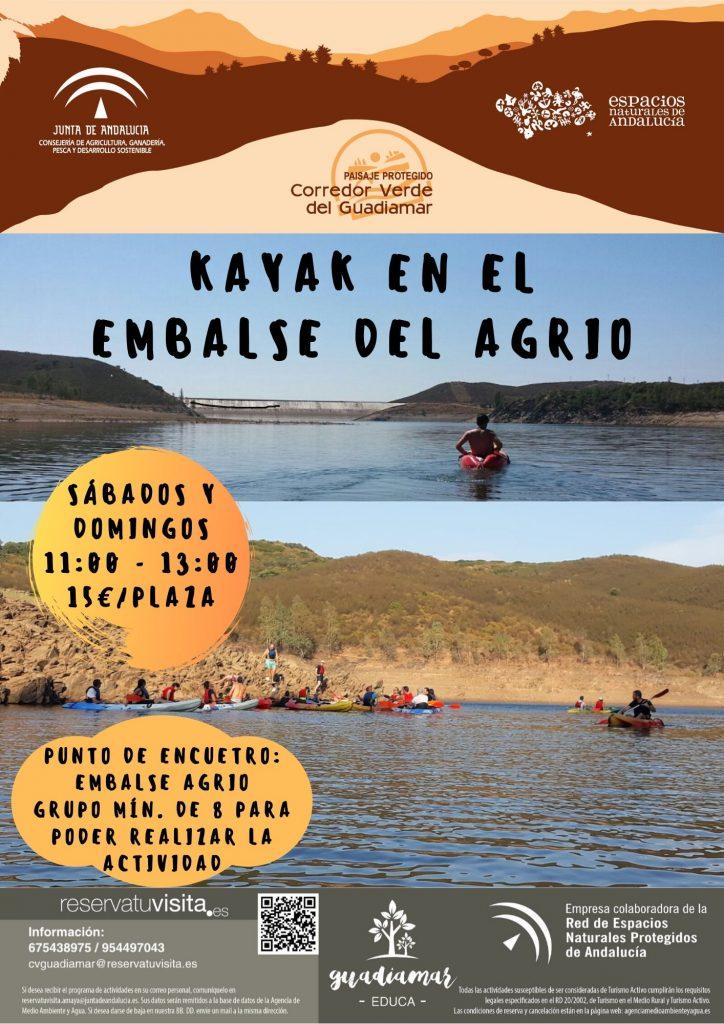Kayak agrio - Guadiamar Educa