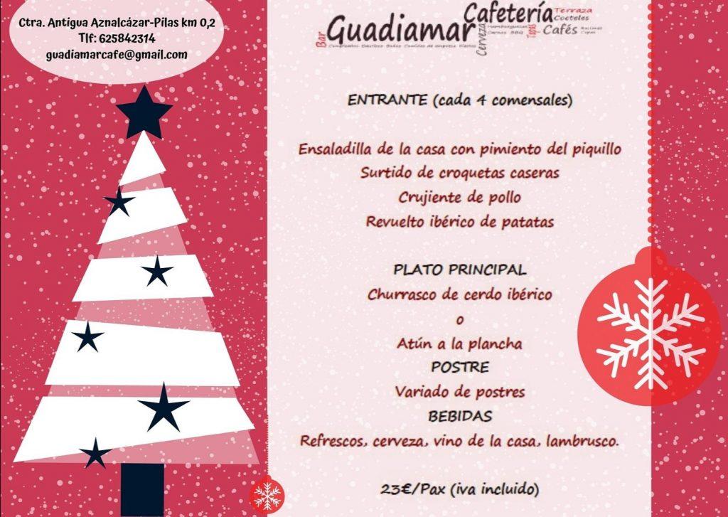 Menú 1 Guadiamar Cafe