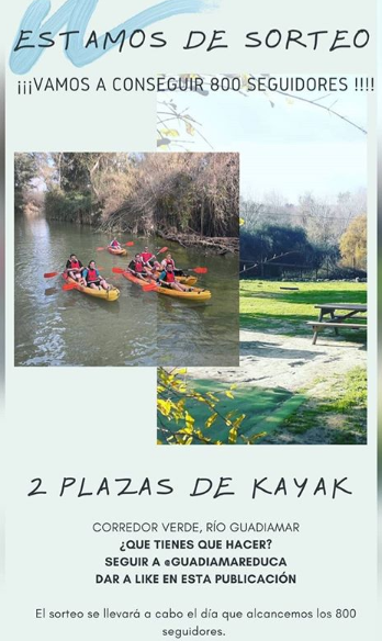 sortep kayak Guadiamar Educa