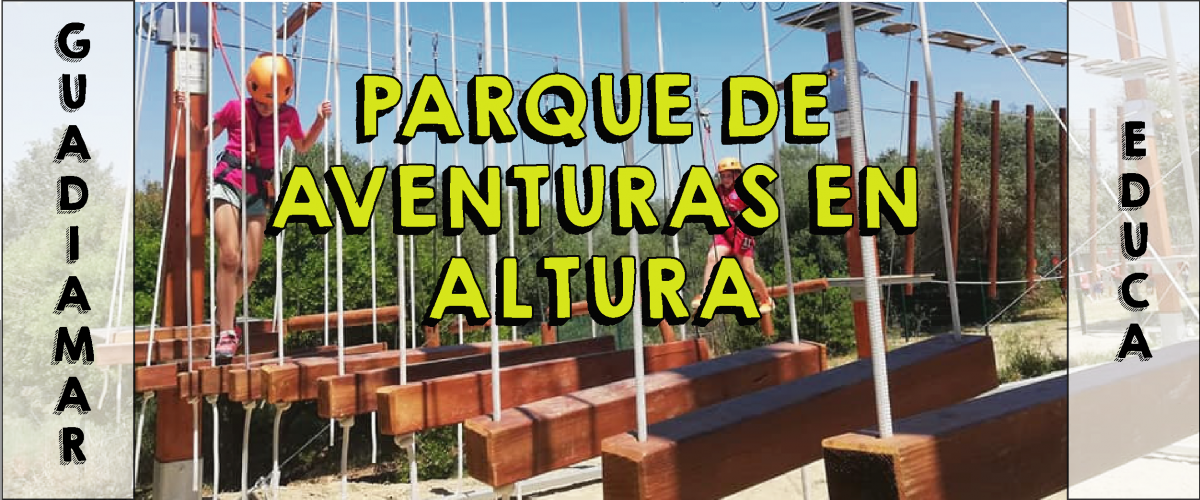 Parque de Aventuras en Altura