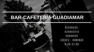 Cafetería Guadiamar Abierto de Jueves a Domingo