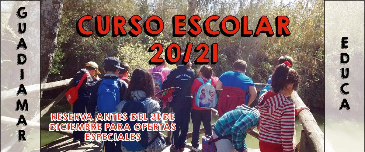 CURSO ESCOLAR 20/21 GUADIAMAR EDUCA
