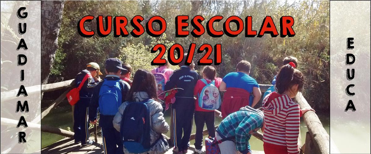 Reserva plaza Curso Escolar 20-21 - Guadiamar Educa